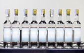 White rum on the shelf — Stock Photo