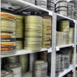 Films were stored in the archive — Stock Photo