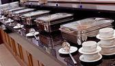 Smorgasbord - food choice in a restaurant — Stock Photo