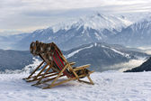 Reclining on the slopes — Stock Photo