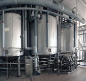 Dairy food-processing industry — Foto Stock