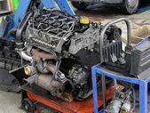 Auto-motor-werkstatt — Stockfoto