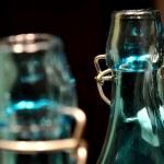 Green bottle — Stock Photo