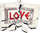 Камень любви — Стоковое фото