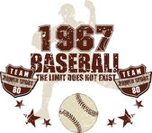 Time de beisebol — Vetorial Stock