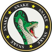 Snake coat of arms — Stockvektor