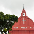 Stock Photo: Christ Church in Malacca, Malaysia
