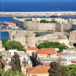 Rhodes. Panoramof old town — Stock Photo #12204302