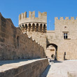 Rhodes Landmark Grandmasters Palace — Stock Photo