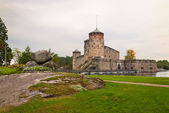 Olavinlinna castle — Stock Photo
