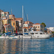 Stock Photo: Symi Island, Greece, Dodecanese
