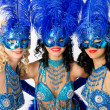 Stock Photo: Carnival dancers