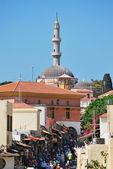 Rhodes Landmark Suleiman Mosque — Stock Photo
