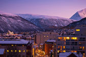 Tromso Cityscape — Stock Photo