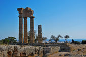 Rhodes Landmark Acropolis — Stock Photo
