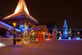 Santa Claus Village — Stock Photo