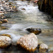 The mountain river — Stock Photo