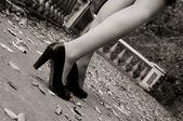 Mooie vrouwelijke benen — Foto de Stock