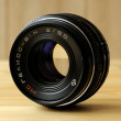 Old lens - Stock Photo