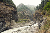 River in the Himalayas — Stock Photo