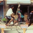 Trishaw on streets of Katmandu — Foto Stock #31405711
