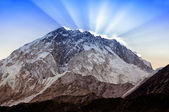 Mt. Nuptse (7,861 m), Nepal, Himalayas — Stock Photo