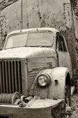 Soviet military truck - GAZ-63 — Stock Photo