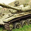 Stock Photo: Old Soviet tank - T-72