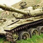Old Soviet tank - T-72 — Stock Photo