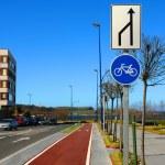 Bicycle lane — Stock Photo #12129203