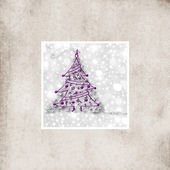 Christmas fir background — Stock Photo