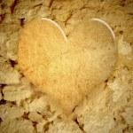 Vintage heart background — Stock Photo