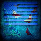 USA grunge flag — Stock Photo