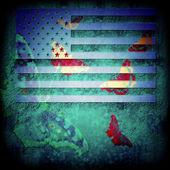 Abstract background usa — Photo