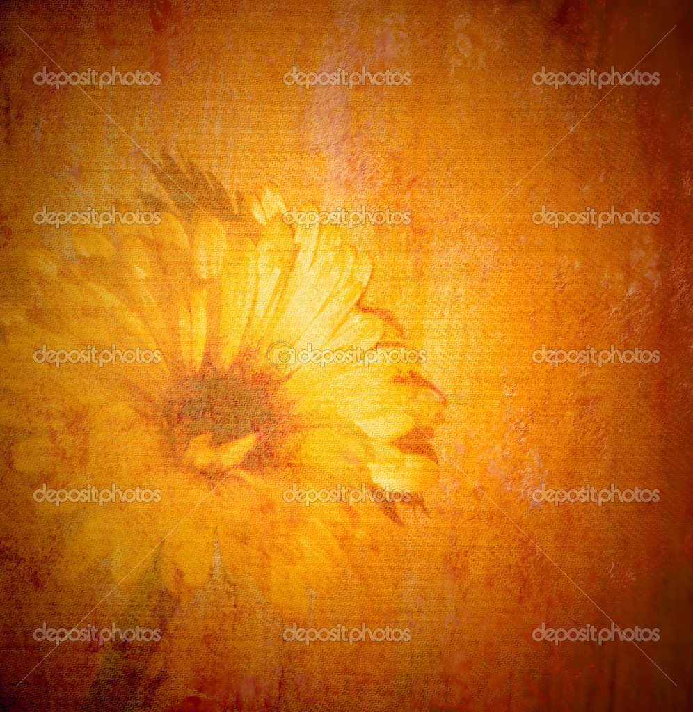 Textured wallpaper - Vintage Daisies Background Viewing Gallery