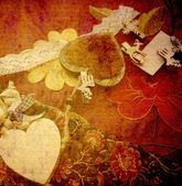 Vintage romantic background — Стоковое фото