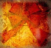 赤いリボン結び目ビンテージ スタイル — ストック写真