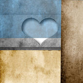Love paper background — Stock Photo