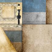 Weibliche schaufensterpuppe hintergrund karte — Stockfoto