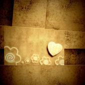 Convite de casamento ou amantes de cartão — Fotografia Stock