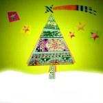 Cheerful Christmas card — Stock Photo #35213045