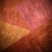 大心棕色浪漫的背景卡,副本空间 — Foto de Stock
