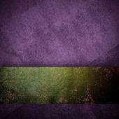 Purple background black design with vintage grunge background — Stock Photo