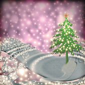 Christmas greeting background — Stock Photo