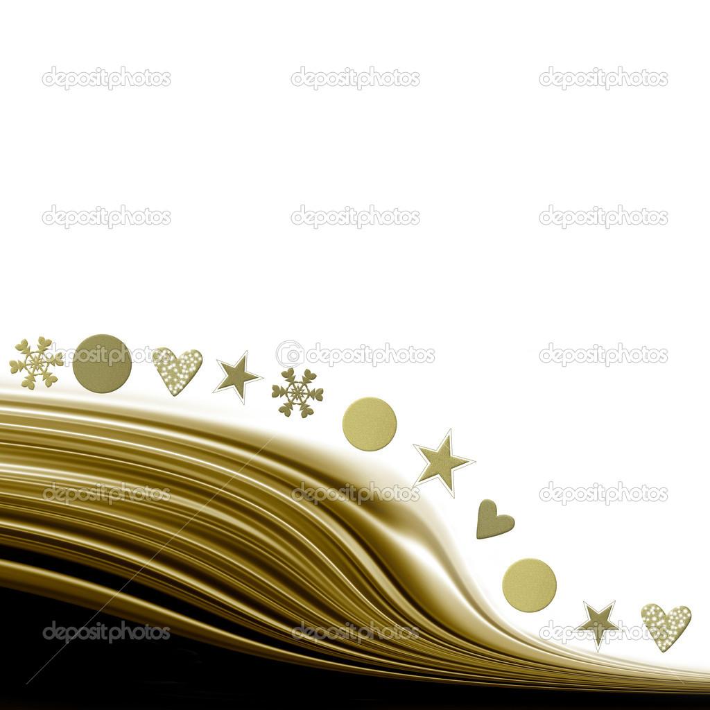 Tarjeta de felicitaci n de navidad elegante foto de - Tarjetas de navidad elegantes ...