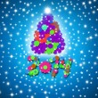 Colorful and fun Christmas Card 2014 — Stock Photo #36627621