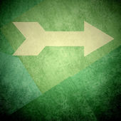 Direction arrow sign right background — Stock Photo