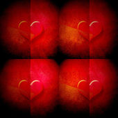 Valentine's day background with hearts — Fotografia Stock