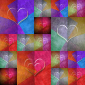 Hearts lovely card — Photo