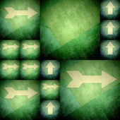 Arrows different direction background — Stock Photo